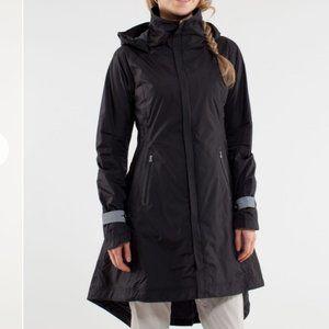 Lululemon Ride On Rain Jacket Black Coal 4